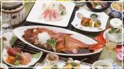 金目鯛料理一例